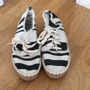 Like New (worn once) espadrilles